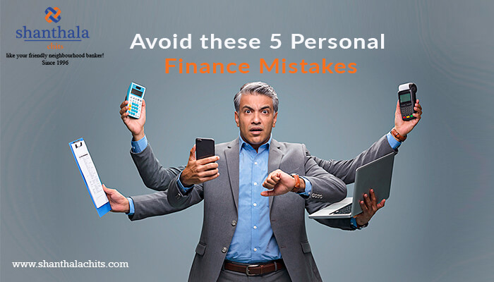 AVOID THESE 5 PERSONAL FINANCE MISTAKES