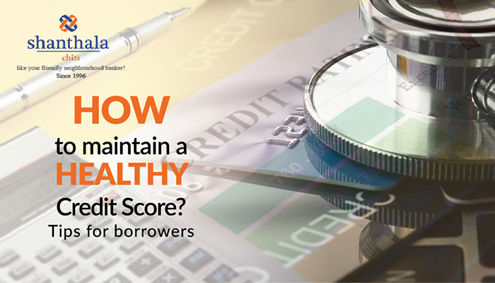 How to maintain a healthy credit score? – Tips for borrowers