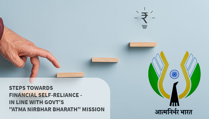 Atma Nirbhar Bharath mission - How Entrepreneurs can build financial self-reliance | Shanthala Chits